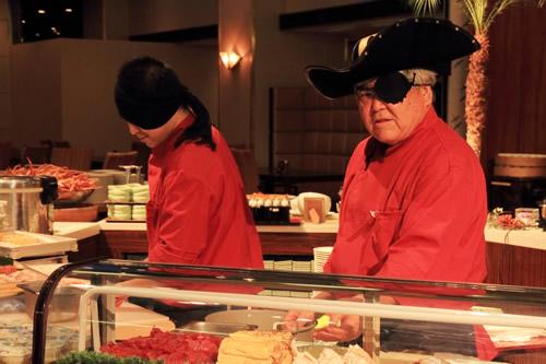 お刺身・お寿司コーナー